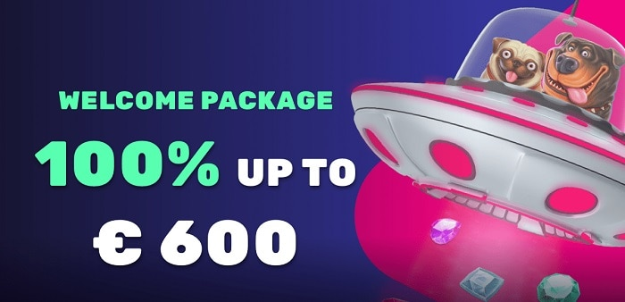 100% bonus and 600 EUR welcome offer