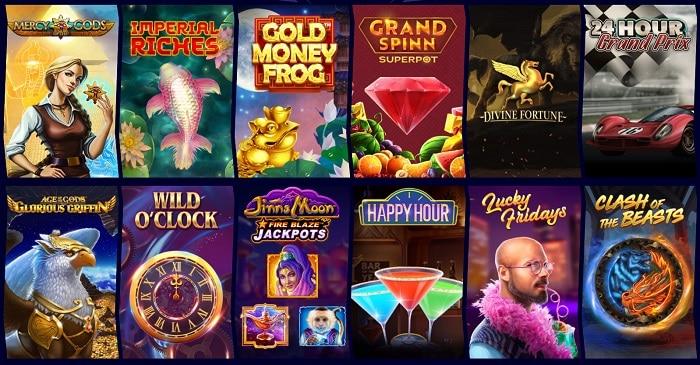 new slots and jackpot games
