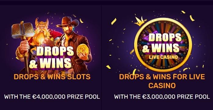 Drops & Wins Tournament