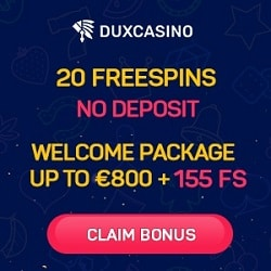 Claim 20 free spins bonus!