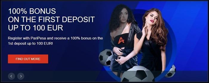 PariPesa 100% Bonus