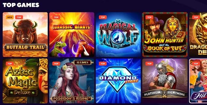 Dazard Casino Games Free Spins Bonus