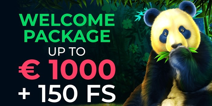 1000 EUR and 150 Wager-Free Spins Bonus