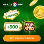 Max Cazino 30 free spins, no deposit bonus, promotion