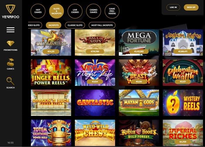 Vegasoo Casino Exclusive Bonus
