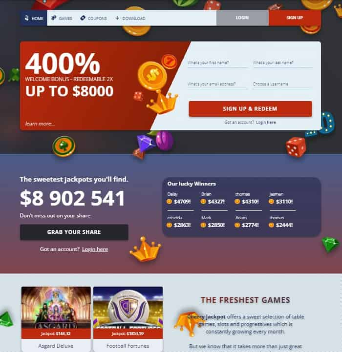 Get 400% Bonus Now!