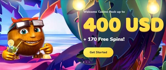 Cosos Welcome Bonus
