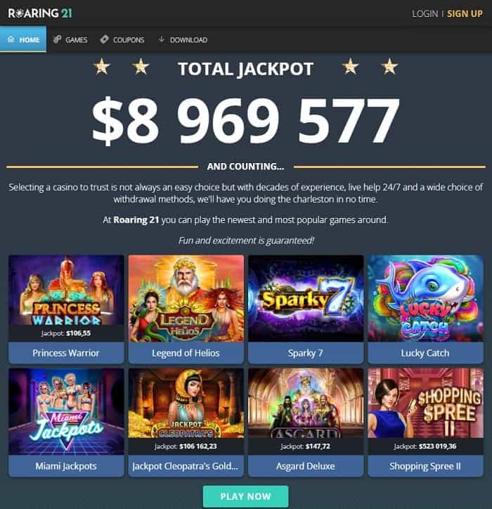 Roaring Casino Free Bonus